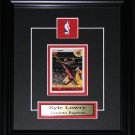 Kyle Lowry Toronto Raptors single card frame