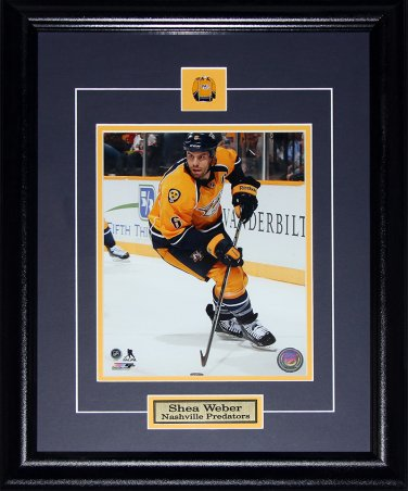 Shea Weber Nashville Predators 8x10 frame