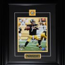 Ben Roethlisberger Pittsburgh Steelers signed 8x10 frame