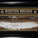 Boston Bruins TD Garden Panorama Deluxe Frame