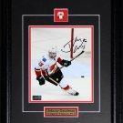 Johnny Gaudreau Calgary Flames signed 8x10 frame