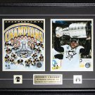 Sidney Crosby Pittsburgh Penguins 2016 Stanley Cup Collage 2 Photo Frame