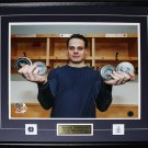 Auston Matthews Toronto Maple Leafs 1st Game 4 Goals Record 16x20 frame