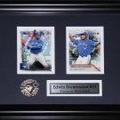 Edwin Encarnacion Toronto Blue Jays 2 card frame