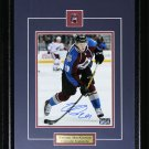 Nathan MacKinnon Colorado Avalanche signed 8x10 frame