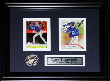 Troy Tulowitzki Toronto Blue Jays 2 card frame