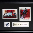 Nathan MacKinnon Colorado Avalanche 2 card frame