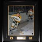 Bobby Orr Boston Bruins signed 16x20 frame