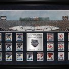 2014 Winter Classic Toronto Maple Leafs Detroit Red Wings Panorama Card Set Fram