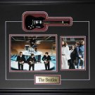 The Beatles Miniature Guitar 2 photo frame