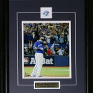 Jose Bautista Toronto Blue Jays Bat Flip Home Run 2015 AL Finals Color 8x10