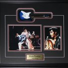 Elvis Presley The King Miniature Guitar 2 photo frame