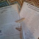Crystal Empowerment Spell Kit 4 PROTECTION Wicca Book of Shadows charmed crystal