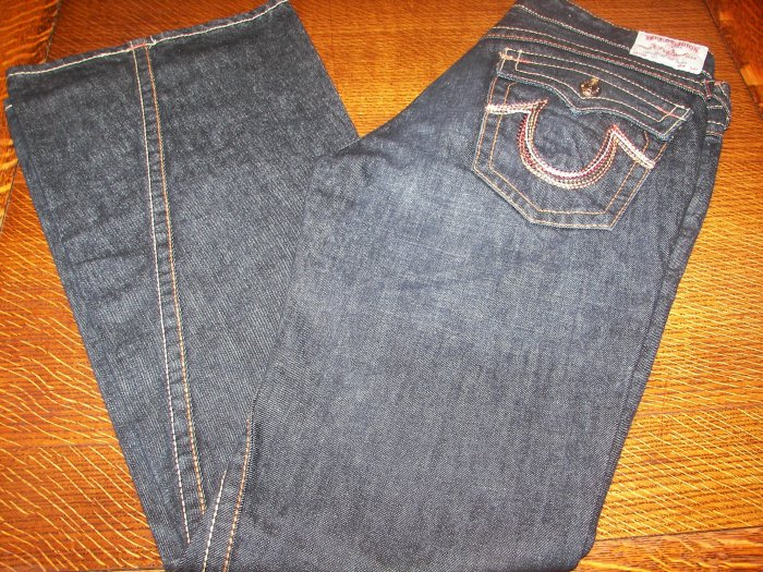 TRUE RELIGION WOMEN'S RAINBOW JOEY JEANS SZ 29 NEW