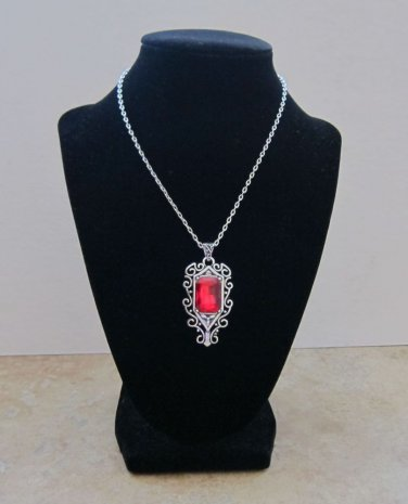 N002 Victorian Gothic The Mortal Instruments Inspired ISABELLE RUBY Necklace