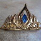 Elsa Tiara Crown Disney movie Frozen Dress Up Costume Jewel Metal Priority Mail