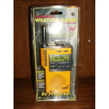 All Hazards Emergency Alert Monitor Oregon Scientific NOAA Weather Radio WR-8000