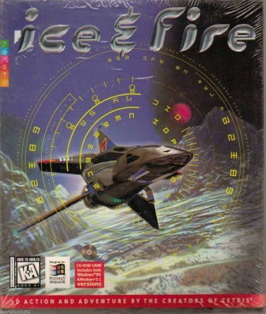 ICE AND FIRE PC GAME USED LIKE NEW