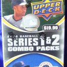 upper deck baseball 2008  jumbo box