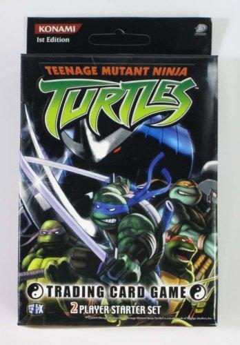 2004 Konami 1st Edition TMNT Teenage Mutant Ninja Turtles 2 Player Starter Set