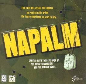 Napalm (AKA NAM)  PC GAME.....DOS......USED