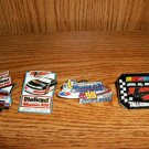 FOUR TALLADEGA SPEEDAY RACEDAY PINS