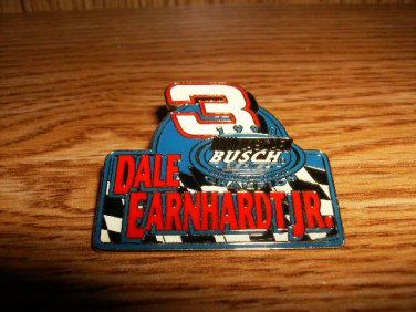 DALE EARNHARDT JR NASCAR BUSCH CHAMPION PIN