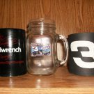 DALE EARNARDT COLLECTION 1 GLASS 2 KOOZIES