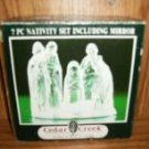 SEVEN PIECE NATIVITY SET