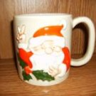 SANTA CLAUS PEACE SIGN CUP MUG