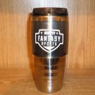 ESPN FANTASY SPORTS TRAVEL MUG CUP COFFEE TEA