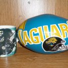 JACKSONVILLE JAGUARS CUP/MUG AND FOOTBALL
