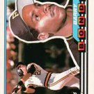 topps barry bonds 1989 #5 card