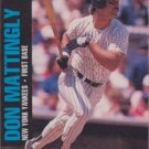 1992 Jimmy Dean Food Issue [Base] #8 Don Mattingly NM/M