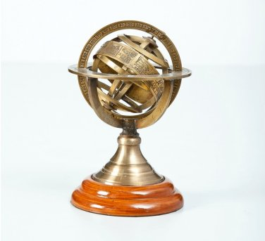 Tabletop Armillary Nautical Sphere Globe 6""