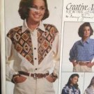 McCalls Sewing Pattern 6961 Ladies / Misses Shirts Size 14-18 UnCut