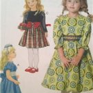 McCalls Sewing Pattern 6197 Girls Childs Dresses Size 6-8 Uncut