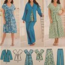 Simplicity Sewing Pattern 2660 Misses Skirt Dress Top Pants Size 10-18 Uncut