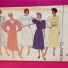 Butterick Sewing Pattern 3412 Ladies / Misses Dress Cummerband Size 14 Uncut