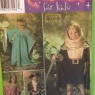 Simplicity Sewing Pattern 4944 Childrens Knight Princess Costumes Size 3-8 UC