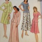 McCalls Sewing Pattern 2045 Ladies / Misses Two Piece Dress Size 10-14 Uncut