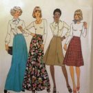 Sewing Pattern No 7308 Simplicity Ladies Skirts Size 12