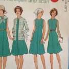 Simplicity Sewing Patterns 7360 LadiesVintage Dress Cardigan Scarf Size 14 1/2