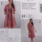 Burda Sewing Pattern 7108 Misses Ladies Dress Coat Size 18-28 Uncut