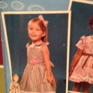 Simplicity Sewing Pattern 2460 Girls / Toddlers Dress Size 1/2 - 3 Uncut