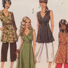 Butterick Sewing Pattern 5046 Ladies Misses Dress Top Pants  Size 8-14 UC
