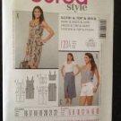 Burda Sewing Pattern 7355 Ladies / Misses Dress & Skirt Size 6-18 Uncut New