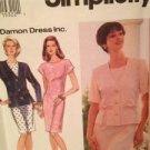 Simplicity Sewing Pattern 8979 Ladies / Misses Dress Jacket Size 6-10 Uncut