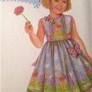 Simplicity Sewing Pattern 4715 Girls Childs Dress Size 5-6X Uncut
