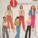 McCalls Sewing Pattern 3196 Ladies / Misses Drawstring Pants Size L-XL UnCut